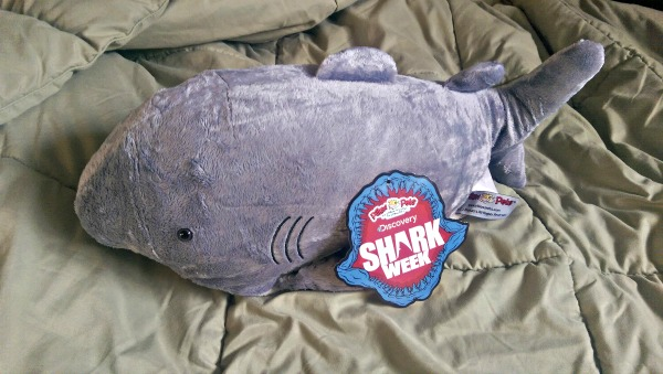 Sharky Shark helps me remember Discoveries Shark Week!