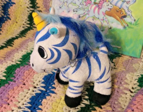 Valeo is the half unicorn, half zebra Zoonicorn