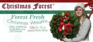 Christmas Forest has the most beautiful wreaths!