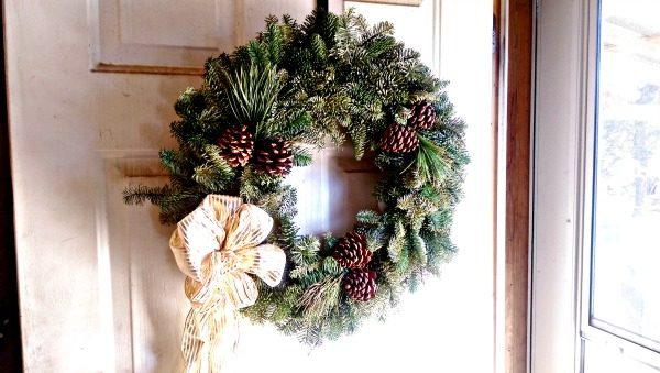 Christmas Forest has beautiful fresh wreaths!