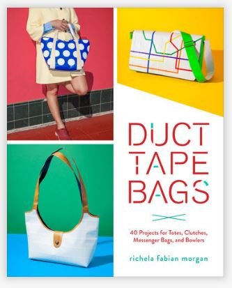 Duct Tape Bags by Richela Fabian Morgan is a craft book of bags made from duct tape.
