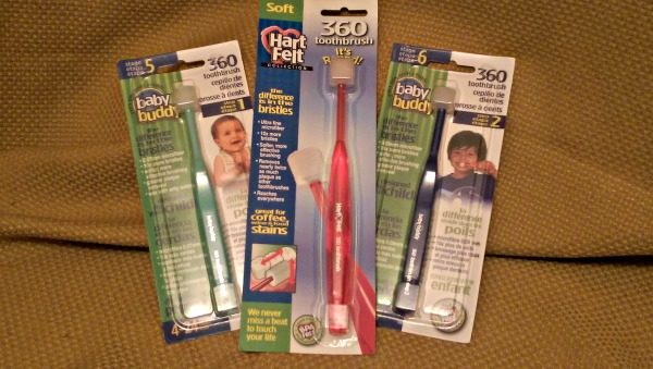 HartFelt 360 Toothbrushes make great for stockings!