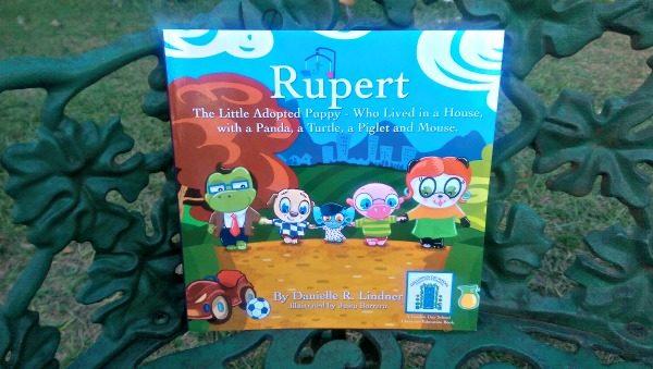 Rupert is one of Miss Danielle's Preschoolbuds