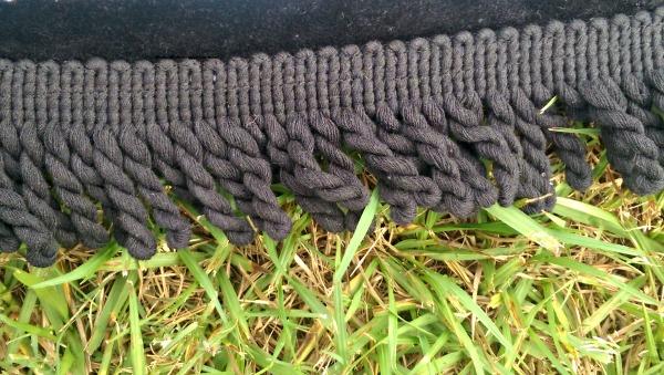 The Machu Picchu Beach Towel has beautiful fringe!