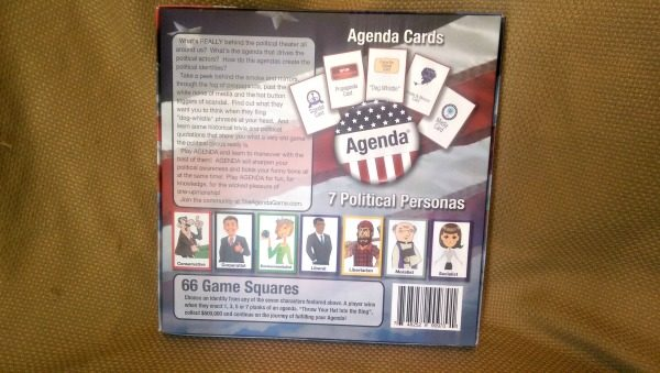 The Agenda Game makes election education fun!