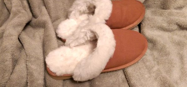 Sheepskin Slippers for Warm Feet