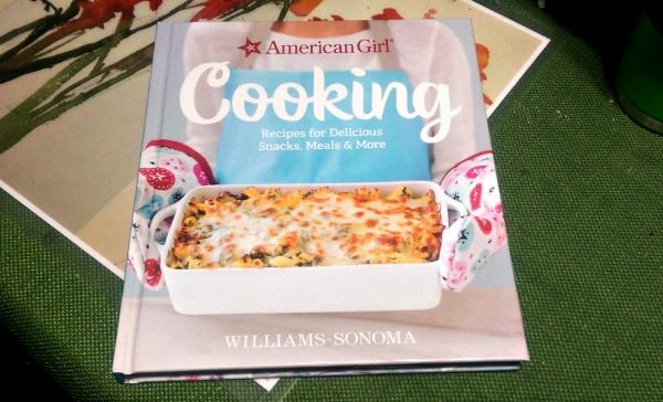 Williams Sonoma American Girl Cooking is a great cookbook!