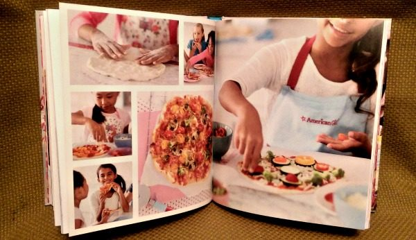Williams Sonoma American Girl Cooking has a pizza recipe too!