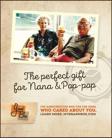 GrandBox is the perfect gift for your Nana & Papa!