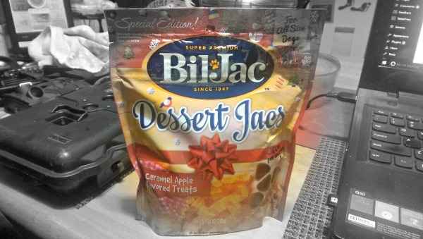 Bil-Jac Caramel Apple Dessert Jacs are puppylicious treats for the holidays!