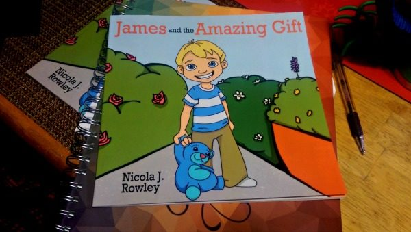 """James and the Amazing Gift"" is all about kindness!"