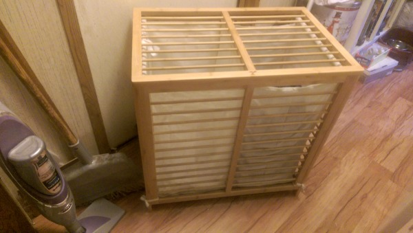 ToiletTree makes great accessories like this Bamboo Laundry Hamper