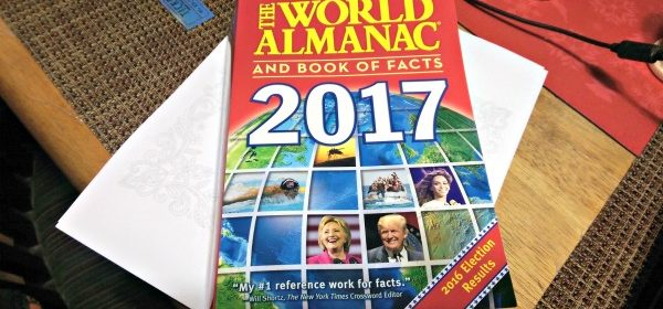 Information from The World Almanac 2017