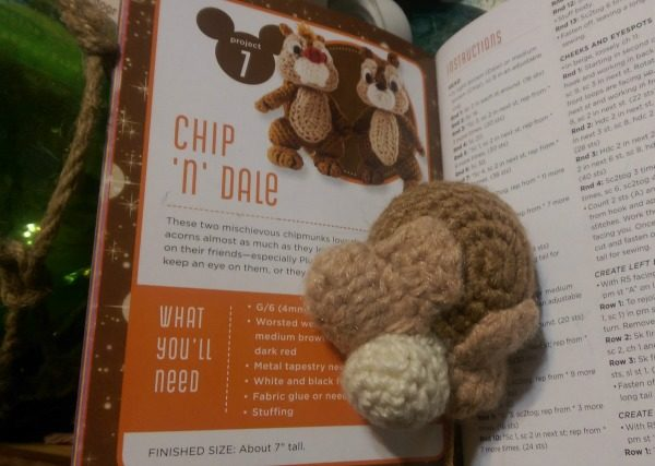 Chip & Dale are great rainy day crochet projects!