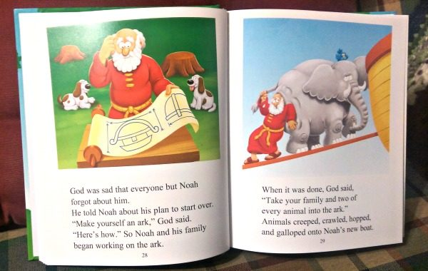 The Beginner's Bible has all your children's favorite stories! It's the perfect first Bible.