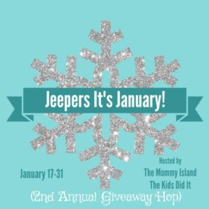Time for the JEEPERS! It's January! Blog Hop!