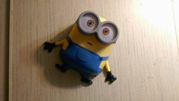 These Minions Nightlights from 3DLightFX are so cute!