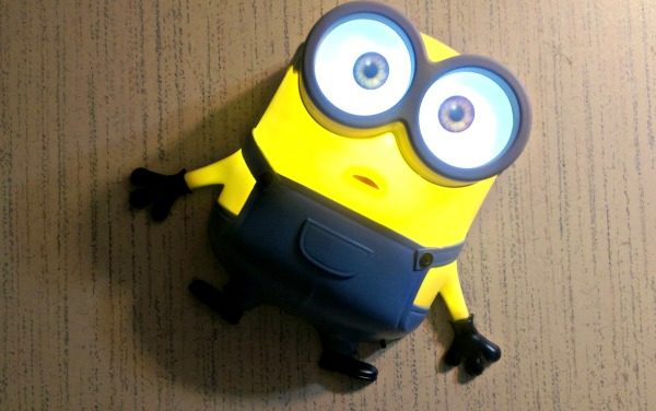 These Minions Nightlights from 3DLightFX are so cute