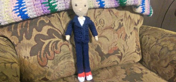 Dr. Who Number 10 – Wednesday WIP