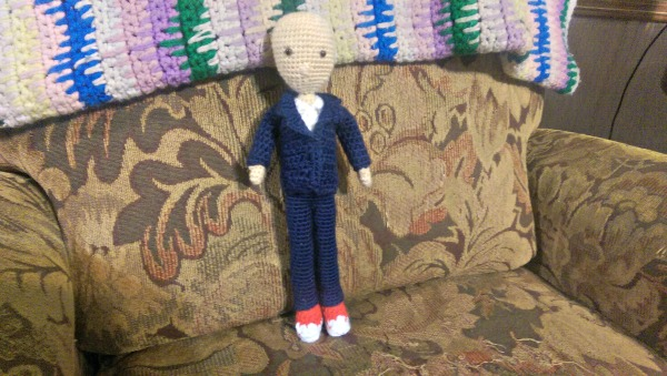 Dr. Who number 10 almost finished!