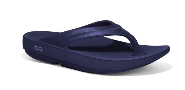 Walking in OOFOS flip-flops is like walking on a cloud! Feel the OO!