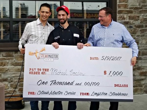 Michael Coates from Northglenn, Colorado was named SteakMaster for the Western region in the SteakMaster series!