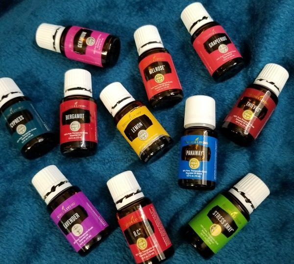 Just a few of my favorite Young Living essential oils