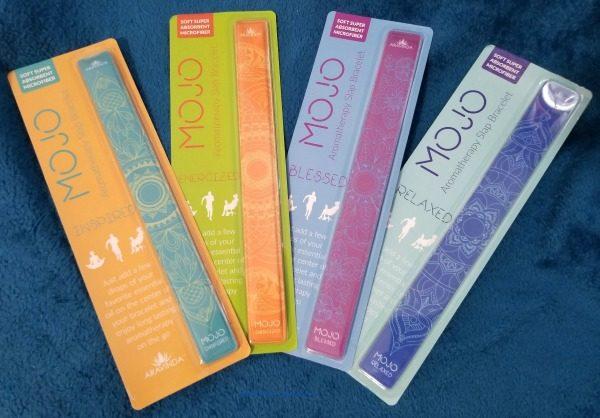 MOJO Aromatherapy Slap Bracelets from Aravinda