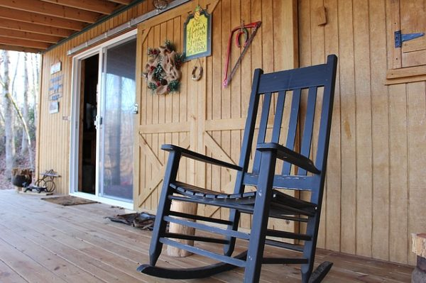 There's something about having a rocking chair on the porch that screams Fall.
