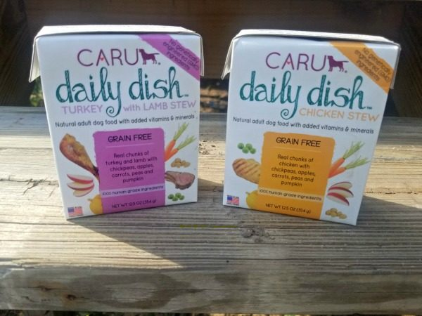 CARU Daily Dish will nourish your best friend with love.