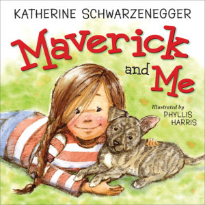 Maverick and Me is a book about dog adoption