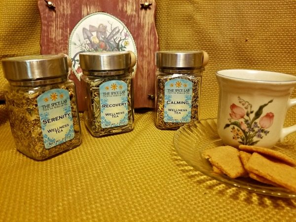 Wellness Teas from The Spice Lab