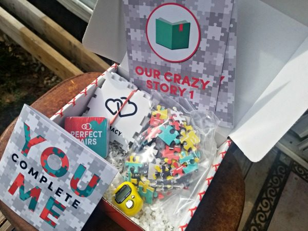You Complete Me themed Crated With Love box for Date Night!