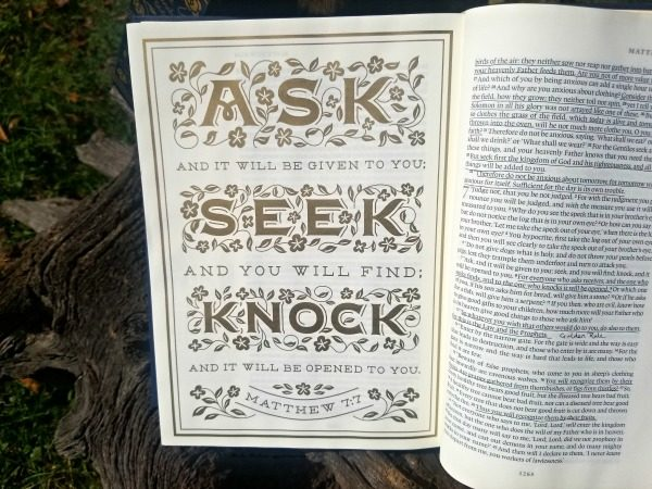 Illuminate your life with the Crossway Illuminated Bible Art Journaling Edition