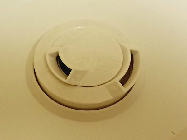 Two adjustable steam spouts on this humidifier help us survive the winter.