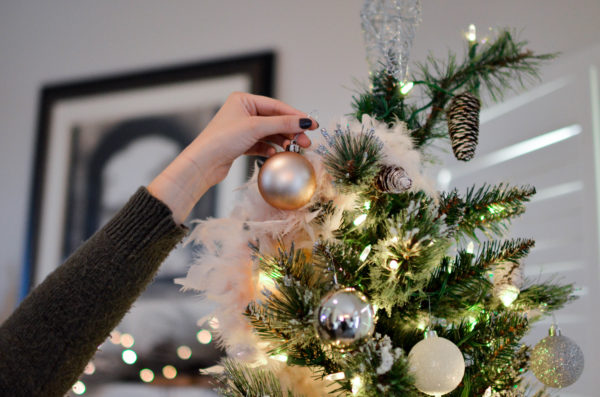 Getting your home ready for guests should include decorating for Christmas!