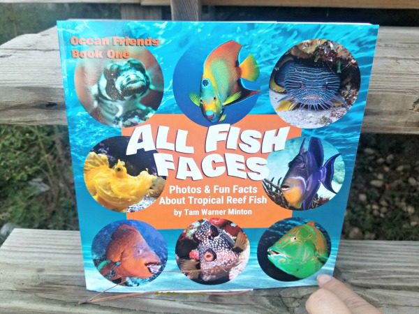 A great book about reef fishes and their fish faces!