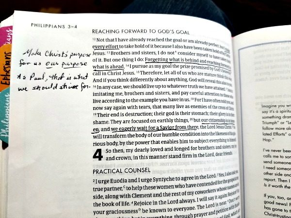 I can actually find and read the notes I write in my She Reads Truth Bible.