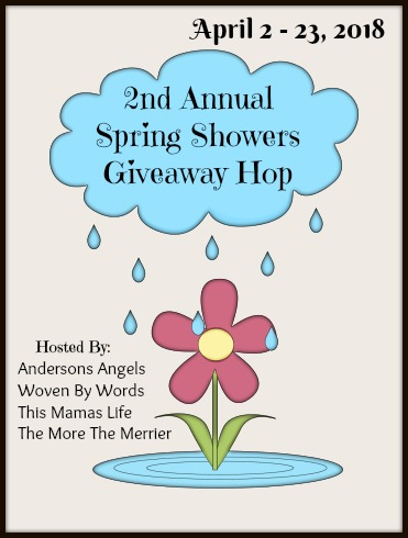 Time for the 2nd Annual Spring Showers Giveaway Hop!